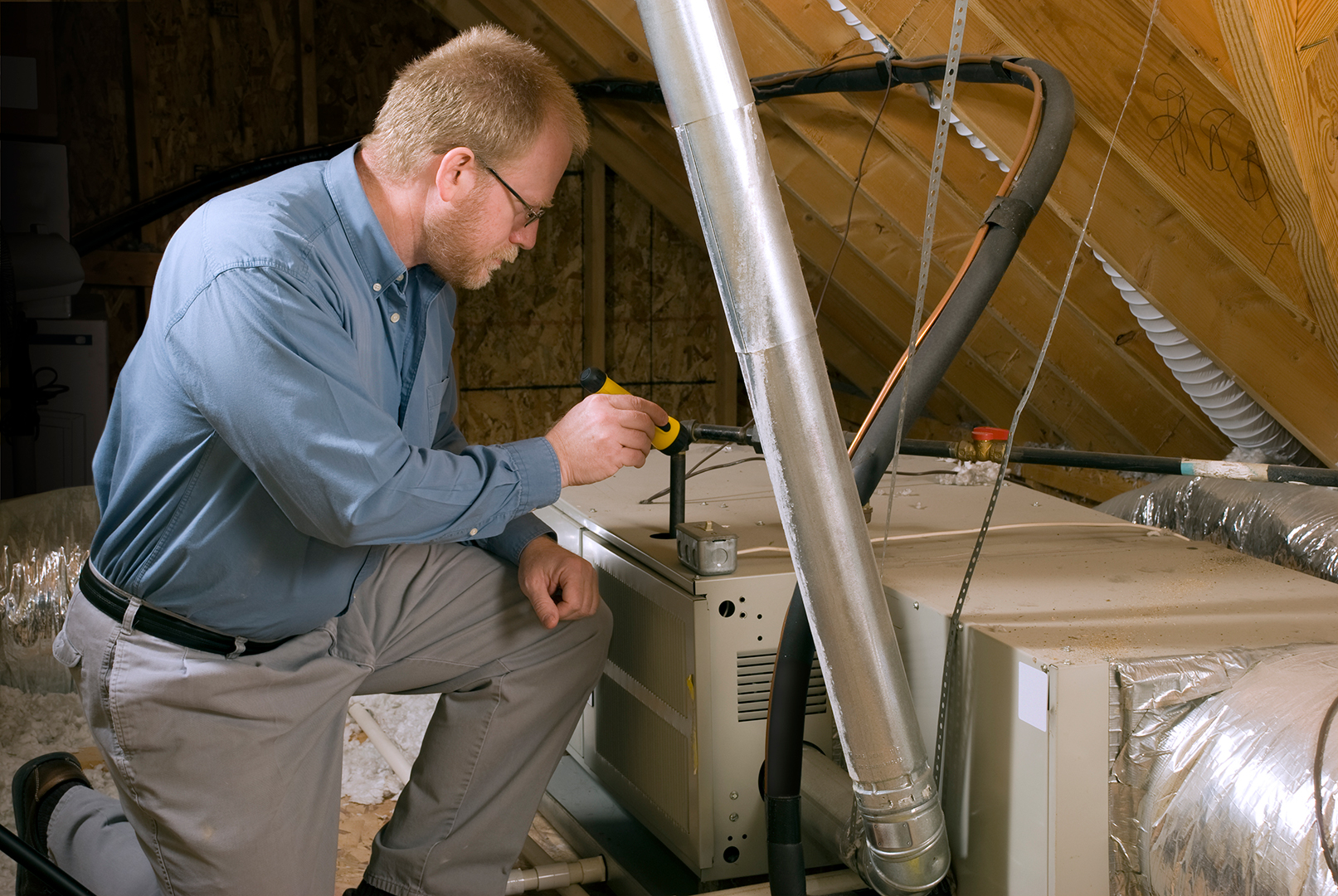 home mechanical system inspection